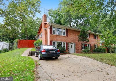 Suitland Single Family Home Under Contract: 5911 Walton Avenue