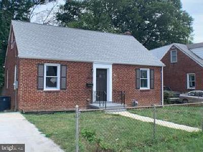 Prince Georges County Single Family Home For Sale: 6909 24th Avenue