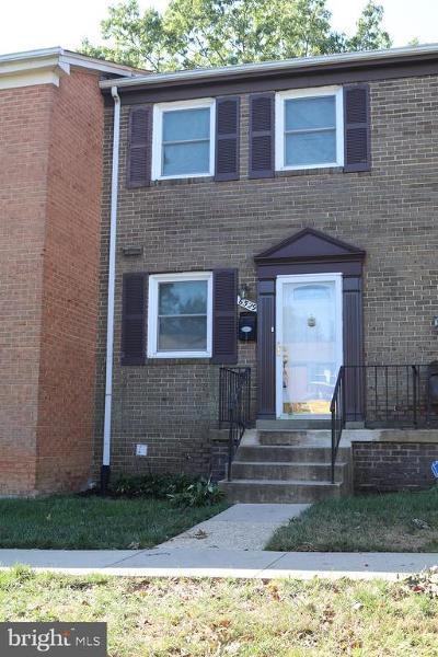 Temple Hills Rental For Rent: 6529 Beechwood Drive #37
