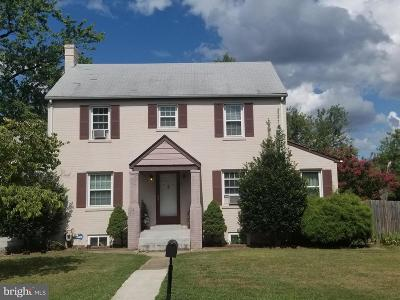 District Heights Single Family Home For Sale: 5818 Kentucky Avenue