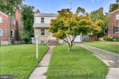 Hyattsville Single Family Home For Sale: 2004 Woodreeve Road