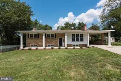Temple Hills Single Family Home For Sale: 6208 Allen Court