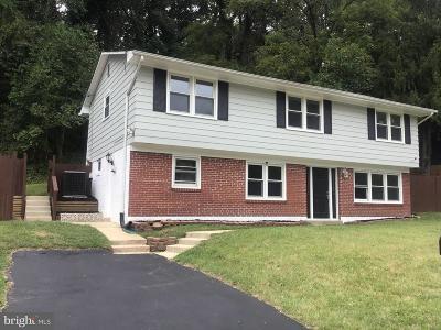 Fort Washington Single Family Home For Sale: 1830 Taylor Avenue