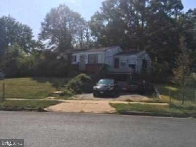 Oxon Hill Single Family Home Active Under Contract: 1611 Birchwood Drive