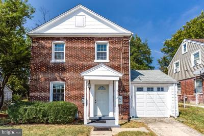 Hyattsville Single Family Home For Sale: 2112 Queens Chapel Road