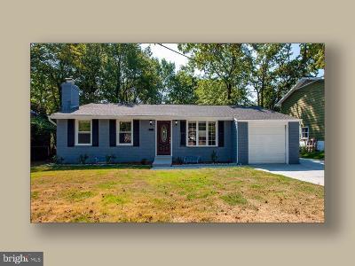 Lanham Single Family Home For Sale: 8705 Good Luck Road