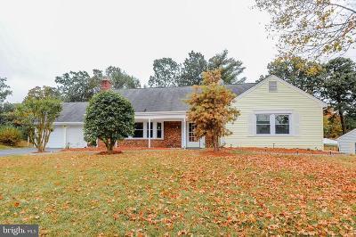 Laurel Single Family Home For Sale: 8807 Orwood Lane