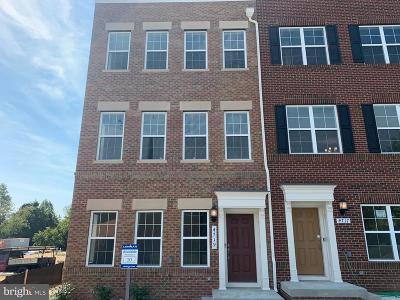 College Park, Greenbelt Townhouse For Sale: 4719 Cherokee Street