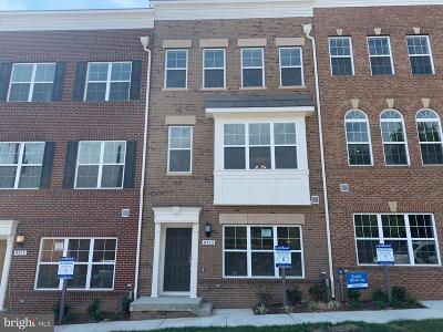 College Park, Greenbelt Townhouse For Sale: 4715 Cherokee Street