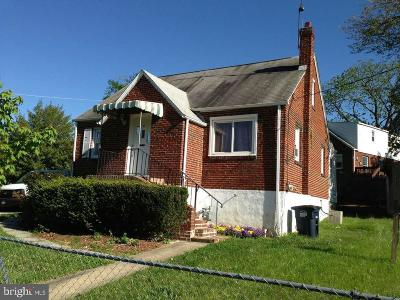 Hyattsville Single Family Home For Sale: 6511 Knollbrook Drive
