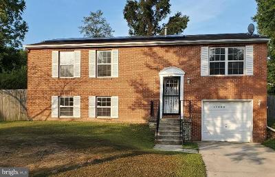 Upper Marlboro Single Family Home For Sale: 17308 Brookmeadow Lane