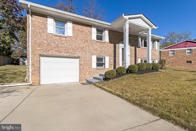 Upper Marlboro Single Family Home For Sale: 9820 Dorval Avenue