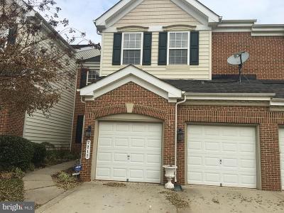 Laurel Townhouse For Sale: 7212 Piney Woods Place