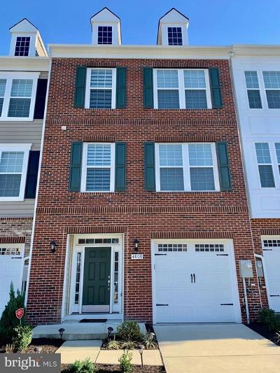Upper Marlboro Townhouse For Sale: 4808 Six Forks Drive