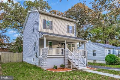 Hyattsville Single Family Home For Sale: 6013 40th Avenue