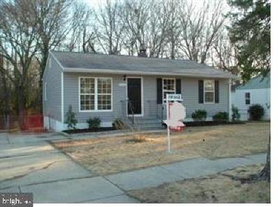 Lanham Single Family Home For Sale: 9325 Wyatt Drive