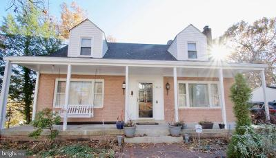 Glenn Dale Single Family Home For Sale: 9821 Worrell Avenue