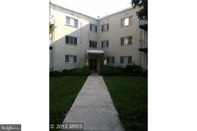 Hyattsville Condo For Sale: 1005 Chillum Road #417