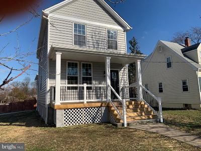 Laurel Single Family Home For Sale: 325 Talbott Avenue
