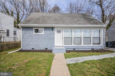 Hyattsville Single Family Home For Sale: 7002 Emerson Street