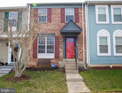 Upper Marlboro Townhouse Temporarily Off Market: 11207 Kettering Place