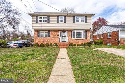 Hyattsville Single Family Home For Sale: 5518 Newton Street
