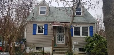 Hyattsville Single Family Home For Sale: 5331 Chesapeake Road