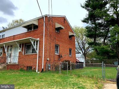 Hyattsville Single Family Home For Sale