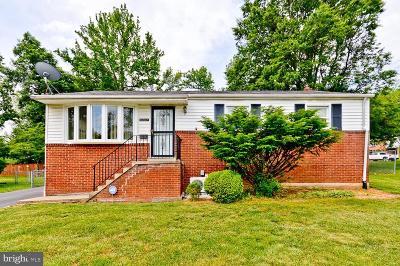 Lanham Single Family Home Temporarily Off Market: 6804 96th Avenue