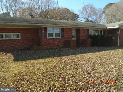 Queen Annes County Single Family Home For Sale: 208 Grasonville Cemetary