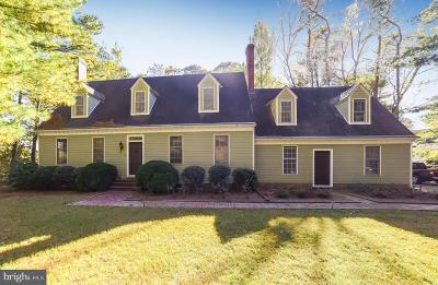 Saint Marys County Single Family Home Under Contract: 18358 Hartman Drive