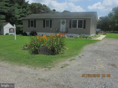 Mechanicsville MD Single Family Home For Sale: $1,500