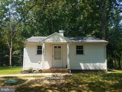 Calvert County, Saint Marys County Single Family Home For Sale: 16781 Three Notch Road