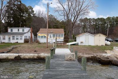 Charles County, Calvert County, Saint Marys County Single Family Home For Sale: 20798 Waterside Drive