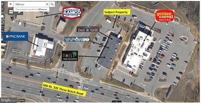 Anne Arundel County, Calvert County, Charles County, Prince Georges County, Saint Marys County Commercial For Sale: 22608 Three Notch Road