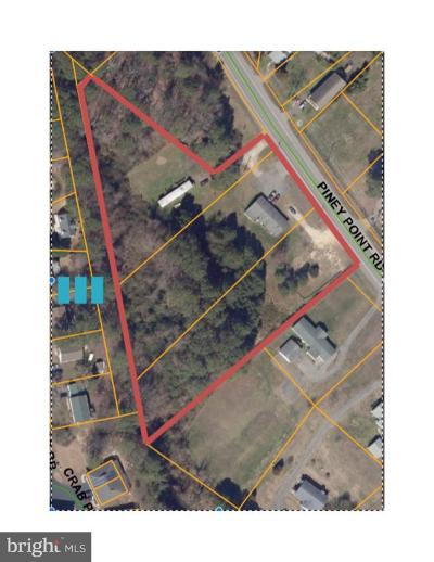 Anne Arundel County, Calvert County, Charles County, Prince Georges County, Saint Marys County Commercial For Sale: 17355 Piney Point Road S