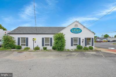 Anne Arundel County, Calvert County, Charles County, Prince Georges County, Saint Marys County Commercial For Sale: 21736 Great Mills Road