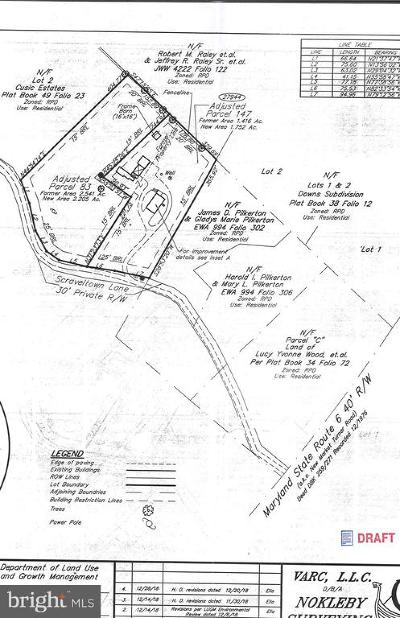 Mechanicsville Residential Lots & Land For Sale: 0083 Scraveltown