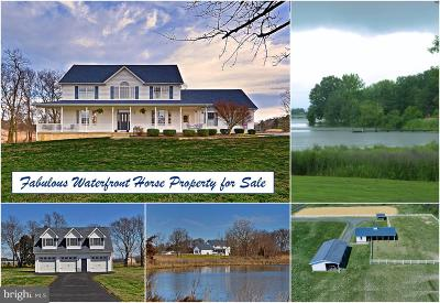 Calvert County, Saint Marys County Single Family Home For Sale: 21581 Montfort Road