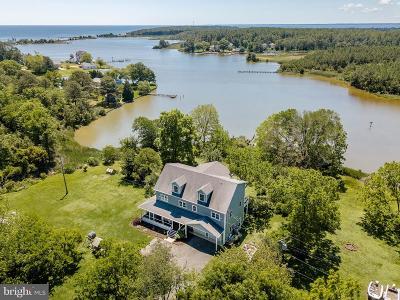 Saint Marys County Single Family Home For Sale: 50333 Scotland Beach Road