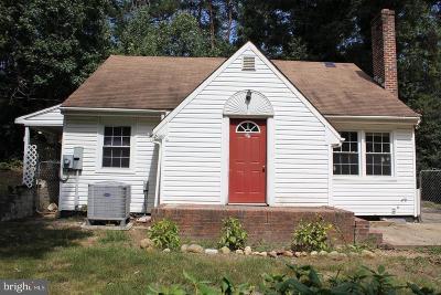 Lexington Park Single Family Home For Sale: 46160 Quatman Road