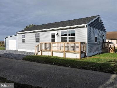 Crisfield Single Family Home For Sale: 140 Maryland Avenue
