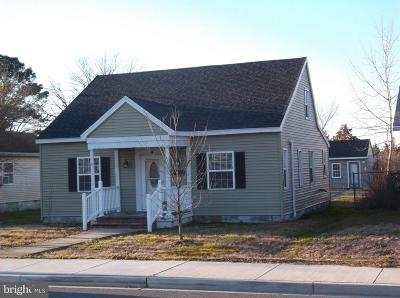 Crisfield Single Family Home For Sale: 72 Maryland Ave