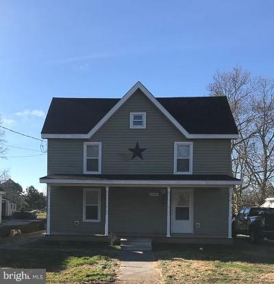 Crisfield Single Family Home For Sale: 26421 Mariners Road