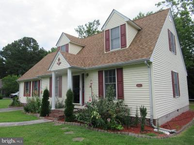 Crisfield Single Family Home For Sale: 104 Clarence Christy Drive