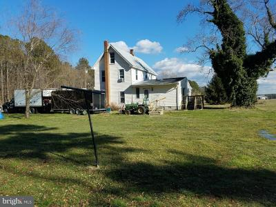 Somerset County Farm For Sale: 10960 Kemp Nursery Road