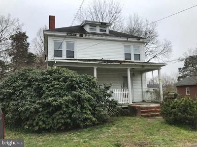 Princess Anne Single Family Home For Sale: 30431 Oak Street
