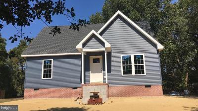 Crisfield Single Family Home For Sale: Gandy Lane