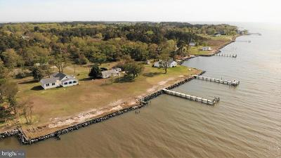 Deal Island Single Family Home For Sale: 10999 Mahlon Price Road
