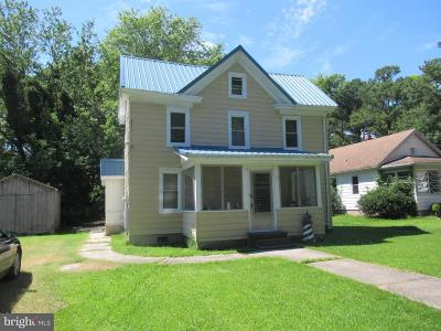 Crisfield Single Family Home For Sale: 3474 State Street